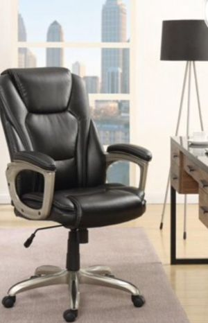 New!! Executive chair, Task chair, rolling chair, desk chair, office chair, faux leather executive chair, office furniture , black for Sale in Phoenix, AZ