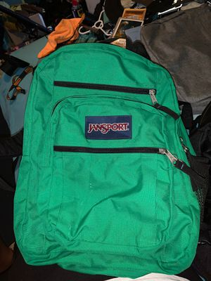 Jansport Big Student green backpack for Sale in Seattle, WA