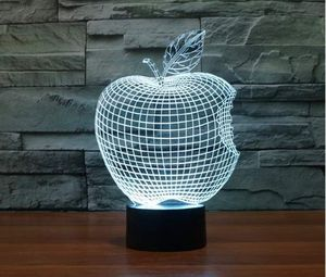 3D lamp gift Valentine's day birthday Apple for Sale in Vancouver, WA