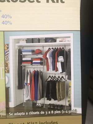 Extend it custom closet kit for Sale in Richmond, VA