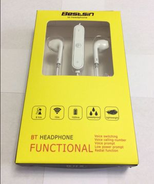 Sport Bluetooth Wireless Earphones Headphones Sweatproof for Sale in Huntington Park, CA