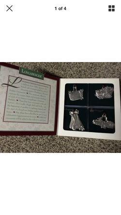 Longaberger Commemorative Christmas Collection Ornament Set for Sale in Warrenton,  VA