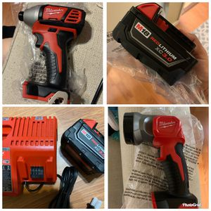 Milwaukee tools and accessories for Sale in Fresno, CA