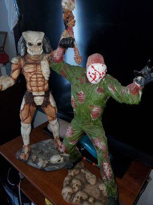 Predator and Jason V. for Sale in Houston, TX
