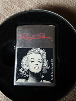 *RARE* LIMITED EDITION MARILYN MONROE ZIPPO - NEVER USED - for Sale in Renton,  WA