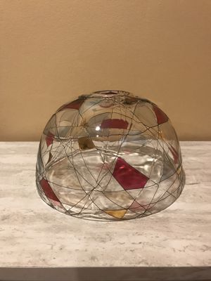 Partylite Candle Glass Lamp Shade for Sale in Utica, MI