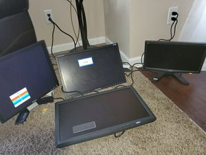 Dell, samsung,Samsung, Acer monitors for Sale in Charlotte, NC