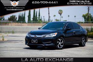 2016 Honda Accord Sedan for Sale in El Monte , CA