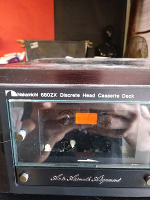REDUCED Nakamichi 680ZX Discrete Head Cassette Deck for Sale in LEWIS MCCHORD, WA