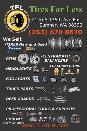 Commercial Truck Tires and Parts for Sale in Sumner, WA