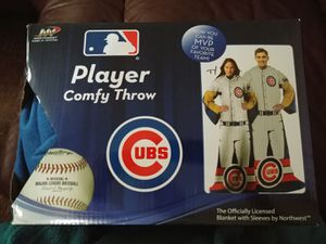 Cubs player comfy throw for Sale in Shadeland, IN