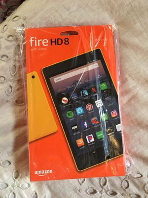 SEALED Amazon Tablet Fire 8 HD with Alexa 16GB WiFi Tablet for Sale in Hayward, CA