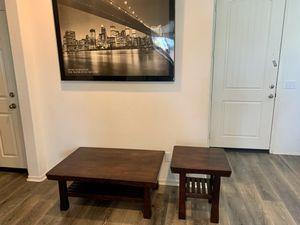 Coffee Table and End Table for Sale in Lake Elsinore, CA