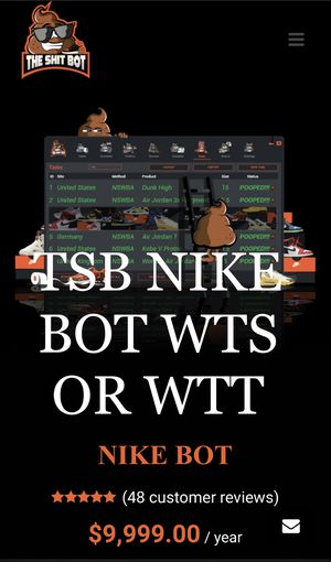 THE SHIT BOT(Nike snkrs bot) WTS/WTT for Sale in San Francisco, CA