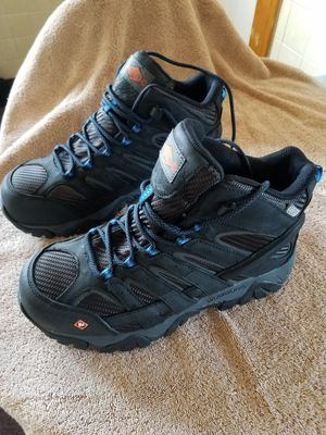 Mens Steeltoed work boots for Sale in Pittston, PA
