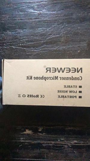 Microphone studio kit and compressor kit for Sale in Cincinnati, OH
