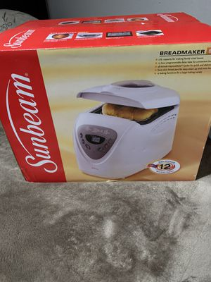 Sunbeam bread maker brand new for Sale in Rancho Cucamonga, CA