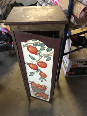 Apple Kitchen Cabinet for Sale in Highland, CA