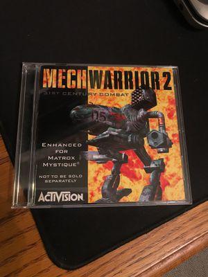 Mech Warrior 2 version 1.1 for Sale in San Diego, CA