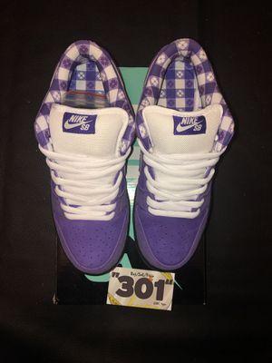"""Nike Sb dunk low """"purple lobsters"""" for Sale in Mount Rainier, MD"""