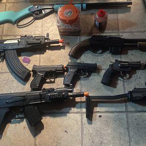Bb Nerf gun bundle for Sale in Long Beach, CA