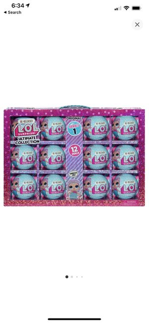 L.O.L Surprise! S1 Ultimate Collection Merbaby 12 Re-Released Dolls!!! for Sale in El Monte, CA