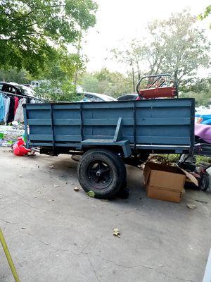 Utility trailer 7 width por 8 length( trailer only) for Sale in Lancaster, TX