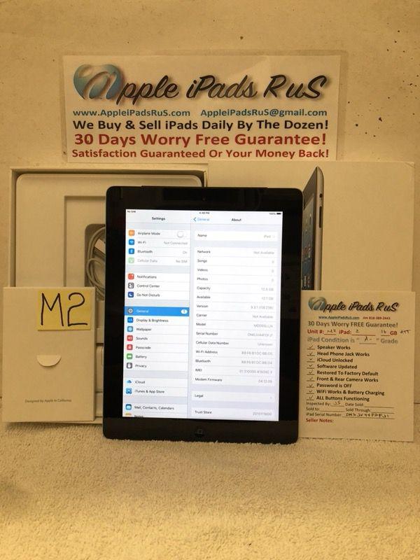 M2 - iPad 2 16GB Cell-ATT