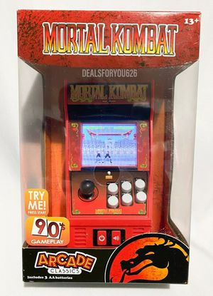 Brand New MORTAL KOMBAT Arcade Classics #15 NEW Mini Playable Game Cabinet for Sale in San Diego, CA