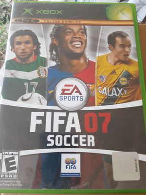 Xbox FIFA 2007 Soccer game for Sale in Williamsport, PA