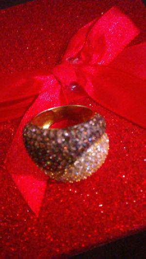 Gold chocolate diamond spinel ring for Sale in Baltimore, MD