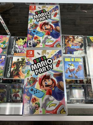 Super Mario party $40 Gamehogs 11am-7pm for Sale in Los Angeles, CA