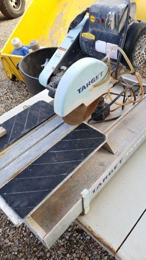 Target tile/brick saw for Sale in Alpine, CA