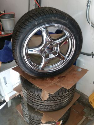 4 Pirelli tires with 17in rims for Sale in Riverside, CA