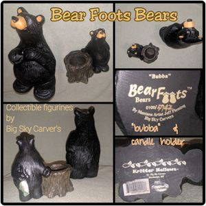 Bear foot Bear's figurine statue Collection for Sale in Bakersfield, CA