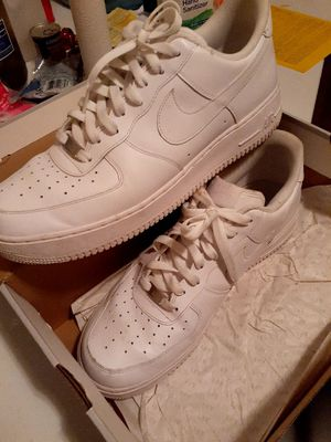 men size 13 .. white air force 1 and adidas samoa for Sale in Humble, TX