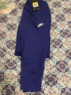Brand new with tags men's nike fleece tech pants size men's small for Sale in San Antonio, TX