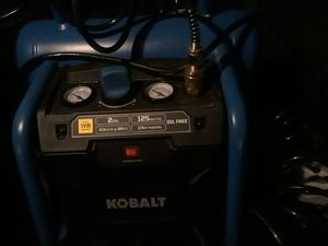 Kobalt twin tank compressor for Sale in Baltimore, MD