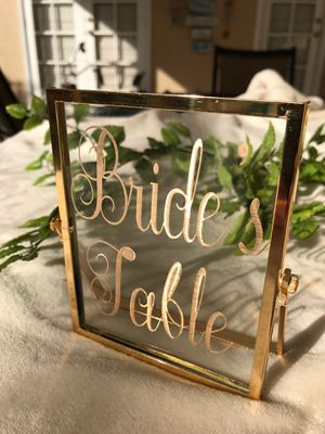 Wedding decor & signs - Beautiful/Mint Condition for Sale in Windermere, FL