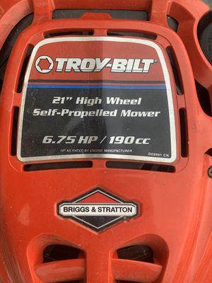 "Troy-Bilt 21"" Self-Propelled lawn mower for Sale in Fredericksburg, VA"