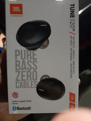 Jbl tune 120 wireless headphones for Sale in South Gate, CA