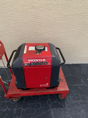 Honda EU3000iS Portable Inverter Generator price firm for Sale in West Palm Beach, FL