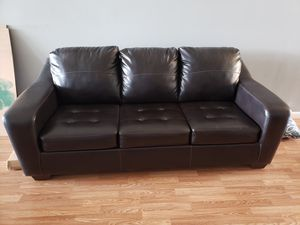 Couch with fold out bed for Sale in Bonaire, GA
