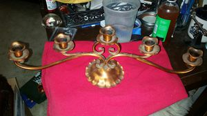 Candelabra Vintage Gregorian Copper for Sale in El Paso, TX