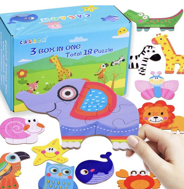puzzles sets for kids brand new