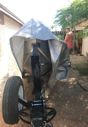 12ft aluminum Mirro craft fishing boat, trailer, 5hp Suzuki 2 stroke outboard motor, also electric trolling motor! for Sale in Mesa, AZ