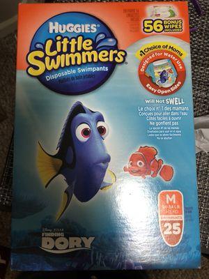 Huggies medium swim diapers for Sale in South Windsor, CT