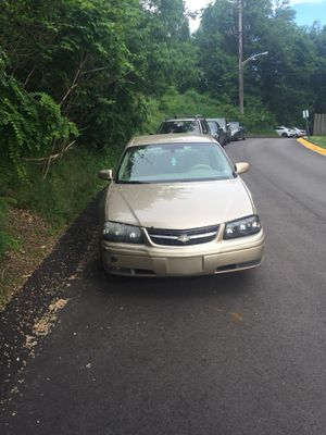 Chevy impala 05. 165,000 runs good. Needs some body work but can pass inspection. This car also has an inspection sticker that is Good until 7/ 18. F for Sale in Monroeville, PA