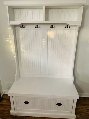 Coat hanger/bench/drawer/shelf for Sale in Levittown, PA