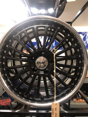 BRAND NEW set (4) TSW lip 19 inch rims for only $1100!!! for Sale in Joint Base Lewis-McChord, WA